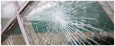 Bourne End Smashed Glass